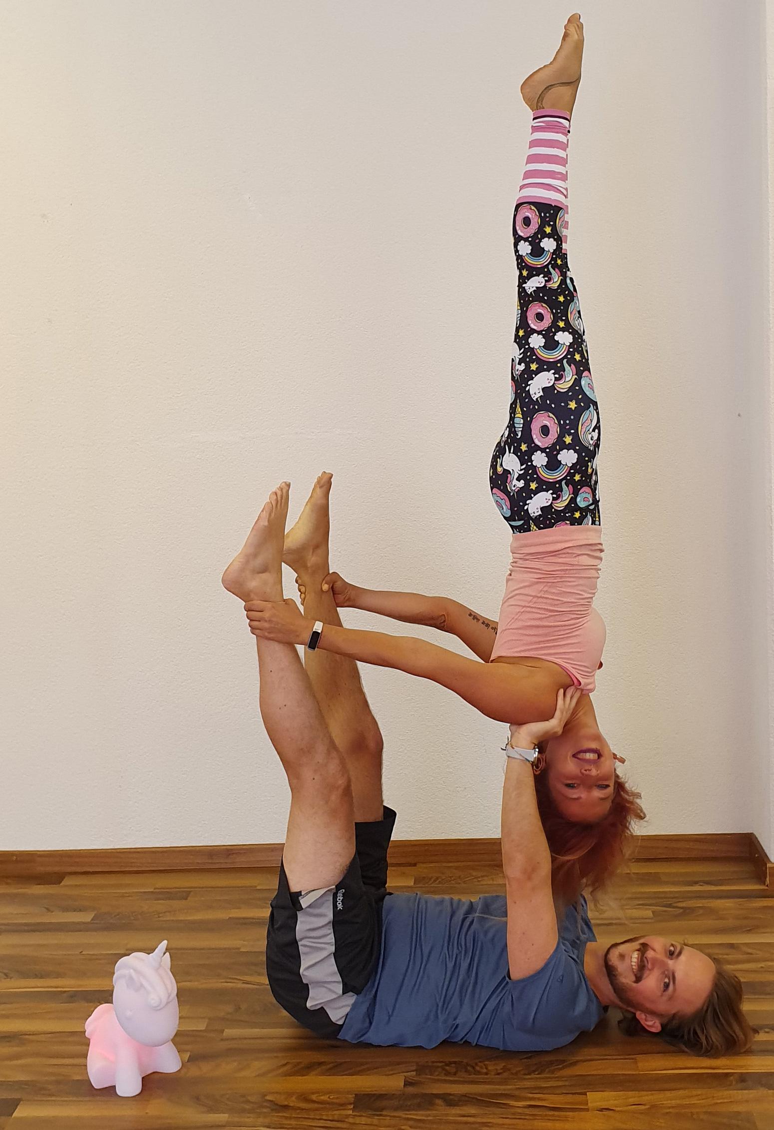 Workshops Partner acro workshop for all levels Mandy Candy's pole dance studio