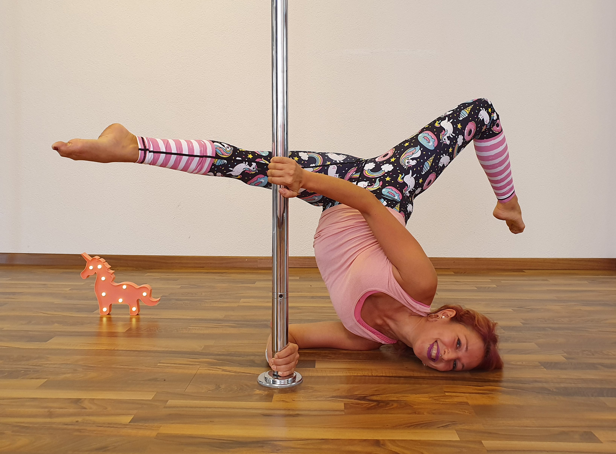 Slow Flow class Mandy Candy's pole dance studio
