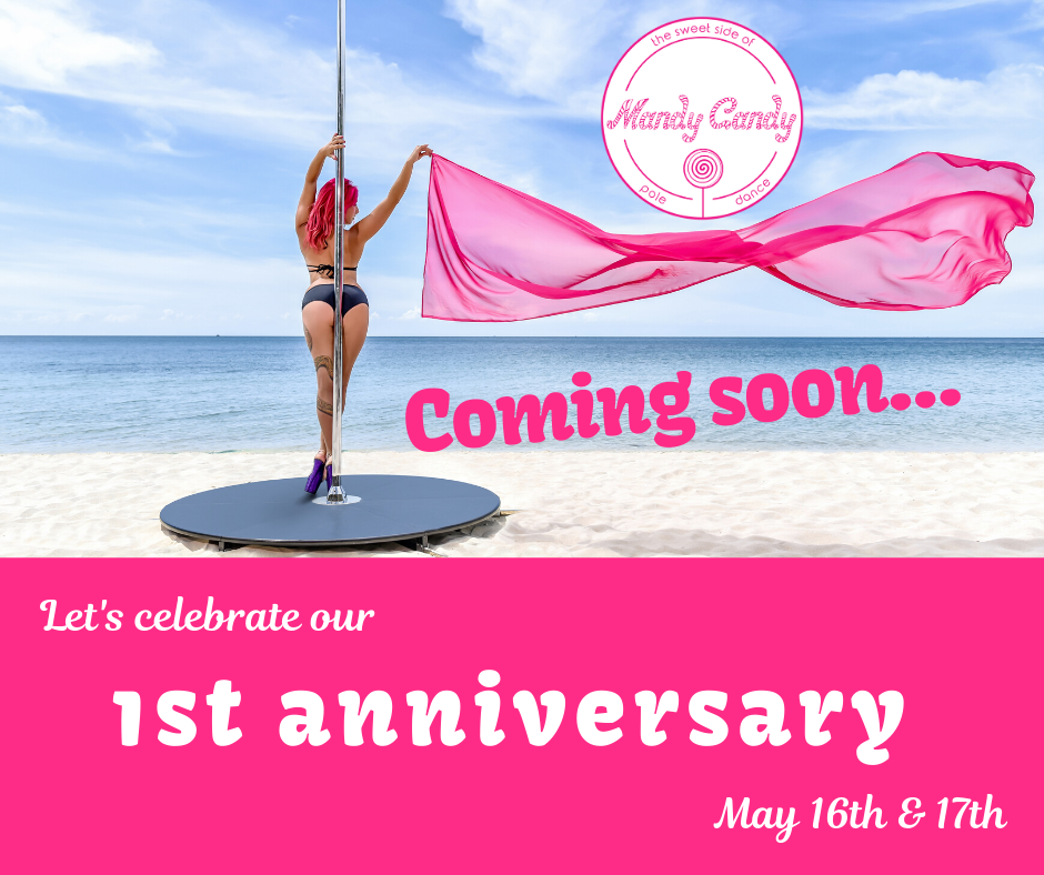 Mandy Candy's Pole Dance Studio's 1st anniversary (postponed until further notice)
