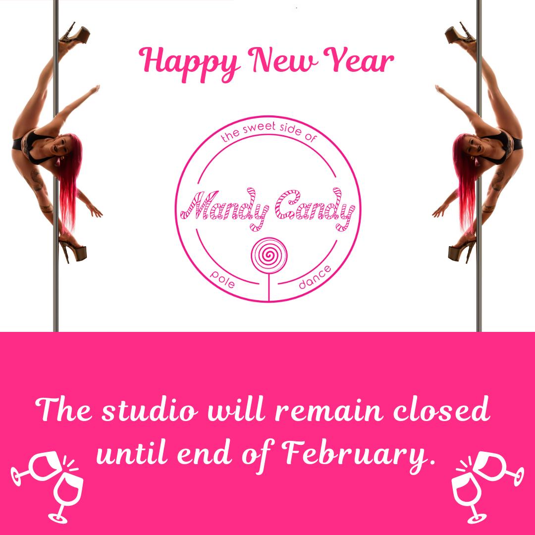 Happy New Year 2021 Mandy Candy's Pole Dance Studio