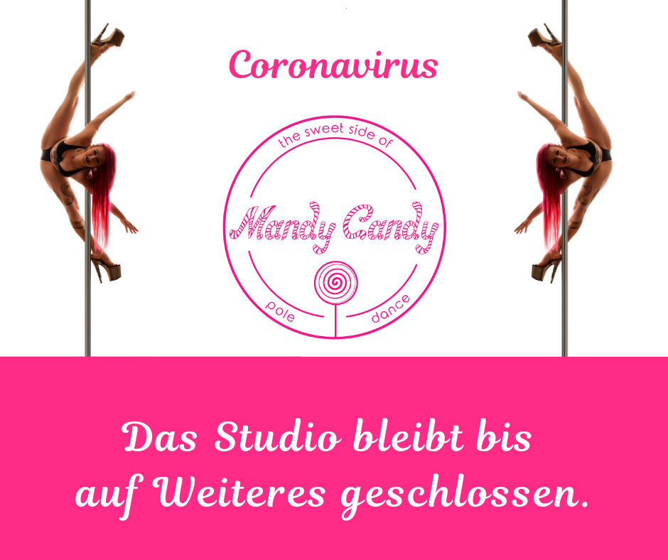Mandy Candy's Pole Dance Studio bleibt bis auf Weiteres geschlossen