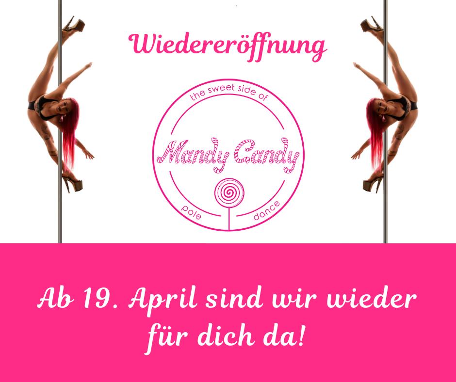 Wiedereröffnung Mandy Candy's Pole Dance Studio