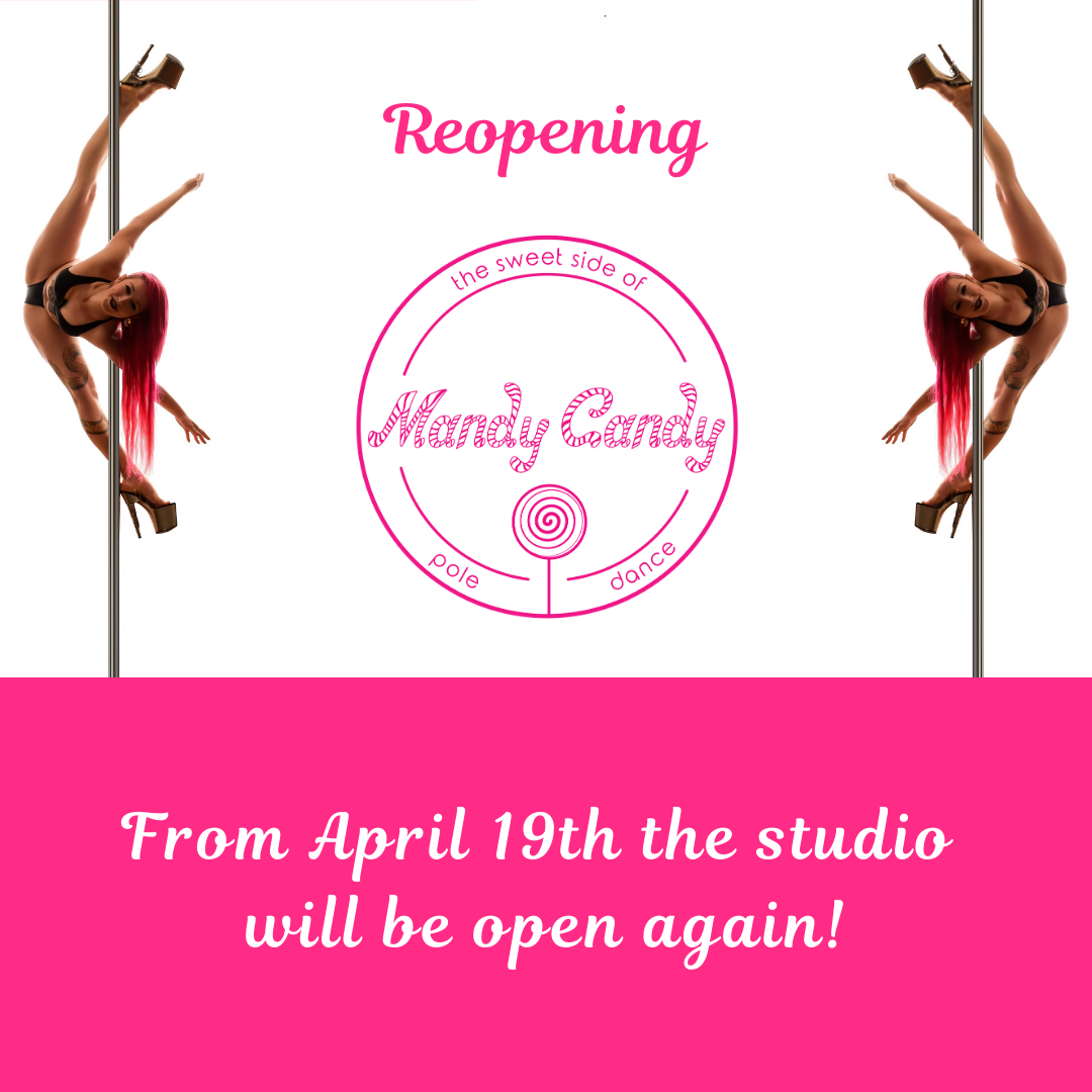 Mandy Candy's Pole Dance Studio will reopen on April 19th