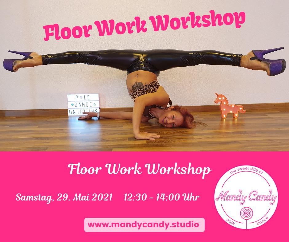 Floor Work Workshop 29.05.2021 Mandy Candy's Pole Dance Studio